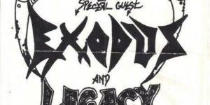 Efeméride del día: El día que Megadeth se presentó en vivo como formato trio