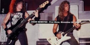 Efemeride del dia: un 8 de noviembre de 1986 hacia su debut en vivo en Metallica Jason Newsted