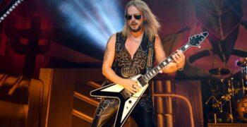 Efeméride del día: Richie Faulkner y la guitarra que reemplaza al mítico K.K Downing