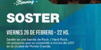 Soster: nuevo concierto en formato streaming para todo el país