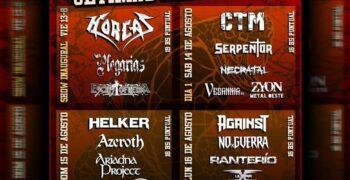 Metal Union Fest: cuatro días de música bien fuerte XXL
