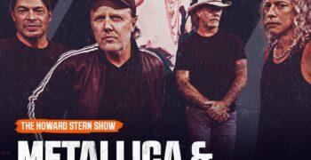 Metallica: nueva aparición prevista en el programa de Howard Stern junto a Miley Cirus